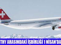 THY, SWISS İŞBİRLİĞİ