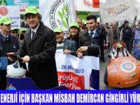 İSTANBUL'DA BÜYÜK ENERJİ YÜRÜYÜŞÜ