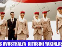 EMIRATES İLE SİDNEY 767  EURO