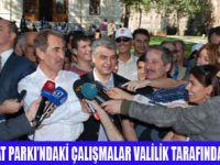 ABANT'TAKİ ÇALIŞMALARI VALİLİK YAPIYOR