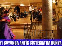 ANTİK CİSTERNA'DA CUMA GECELERİ