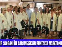 SARI MELEKLER  RUNTALYA MARATONU'NDA