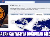 FACEBOOK ÜZERİNDEN LUFTHANSA ERİŞİMİ