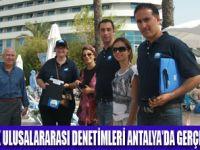 ANTALYA'DA MAVİ BAYRAK DENETİMİ