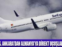SUNEXPRESS İLE BAŞKENT'TEN ALMANYA'YA