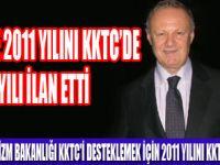 2011 TURİZMDE KKTC YILI OLACAK