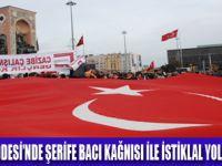 ŞEHİT ŞERİFE BACI TAKSİM'DE ANILDI