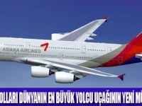 ASİANA AİR 6 AİRBUS A380 ALIYOR