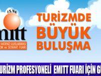 TURİZMCİLER EMITT'TE BULUŞUYOR