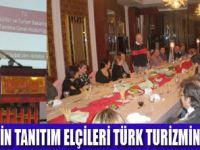TURİZM ELÇİLERİ ANTALYA'DA TOPLANDI