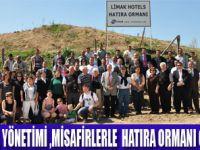 LİMAK HOTELS'DEN AĞAÇ DİKİM KAMPANYASI