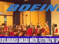 BOEING MÜZİK FESTİVALİ'NE SPONSOR