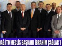 İTO MECLİS BAŞKANI'NA ZİYARET
