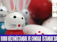 HİLTON VE CONRAD'DA PASKALYA BRUNCH'I
