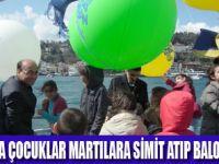 MARTILARA SİMİT ATMA ŞENLİĞİ