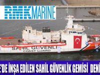 'TCSG UMUT' TÖRENLE DENİZE İNDİRİLDİ