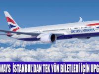 BRITISH AIRWAYS'DEN UPGRADE FIRSATI