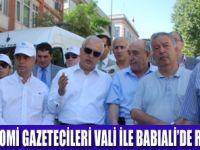 GAZETECİLERİN  RUHU BABIALİ'DEDİR