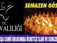 VAN VALİLİĞİ'NDEN 'SEMAZEN' GÖSTERİSİ