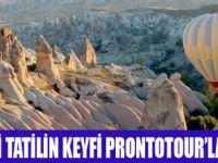 TATİL ALTERNATİFLERİ PRONTOTOUR'DA