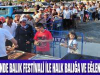 BEYLİKDÜZÜ'NDE BALIK EKMEKLİ FESTİVAL