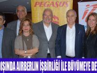 İZAIR AIRBERLIN İLE YURTDIŞINDA BÜYÜYOR