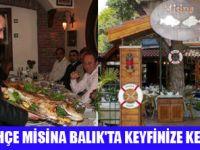 BALIK FENERBAHÇE MİSİNA'DA YENİR