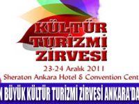 KÜLTÜR TURİZMİ ZİRVESİ ANKARA'DA TOPLANIYOR