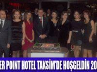 POINT HOTEL'DE  HOŞ GELDİN 2012 GECESİ
