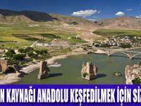 ANADOLU'YU KEŞFETME MEVSİMİ