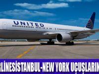 UNITED AIRLİNES SEFERLERİNE BAŞLADI
