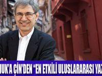 ORHAN PAMUK'A ÇİN'DEN ÖDÜL