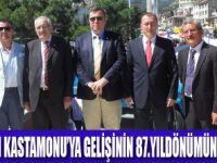 ATATÜRK'ÜN GELİŞİ KUTLANDI