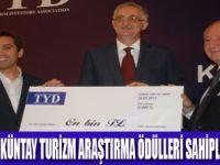 TYD BARLAS KUNTAY ÖDÜLLERİ VERİLDİ