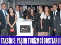 CVK HOTEL TAKSİM 3. YAŞINI KUTLADI