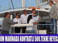 D-MARİN DİDİM'DE 500.TEKNE COŞKUSU