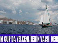 BODRUM'DA YELKENLERİN VALSİ BAŞLADI