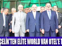 AK PARTİ HEYETİ ELİTE WORLD VAN OTEL'DE