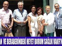 FERZAN KIRHAN'IN  BODRUM ZİYARETİ