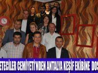 VAN-ANTALYA KÖPRÜSÜ GAZETECİLERLE KURULUYOR