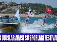 VAN DENİZİNDE FESTİVAL ŞOV BAŞLADI