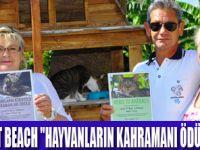 CRYTAL TAT BEACH ALMANYA PETA'NIN KAHRAMANI