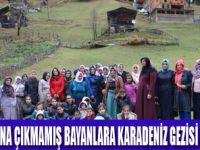 ÖZALP'LI BAYANLAR KARADENİZ'DE