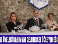 SKAL İSTANBUL ÜYELERİ KALYON OTEL'DE BULUŞTU