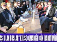 """MARMARİSLİ RUSLAR """"İBADETİMİZİ YAPAMIYORUZ"""""""