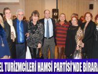 SKAL ÜYELERİ HAMSİ PARTİSİNDE BULUŞTU