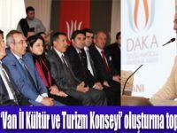 Van Kültür ve Turizm Konseyi Toplandı