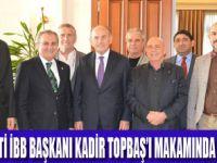 Turob Heyetinden Kadir Topbaş'a ziyaret