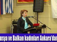 Kadınların sesi Ankara'dan Yükseldi