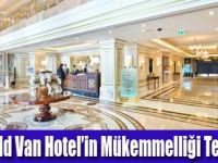 Elite World Van Hotel Ödüllendirildi
